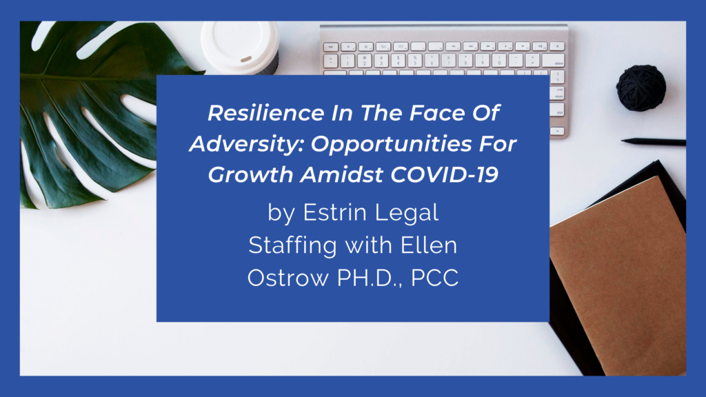 Resilience In the Face Of Adversity: Opportunities For Growth Amidst COVID-19