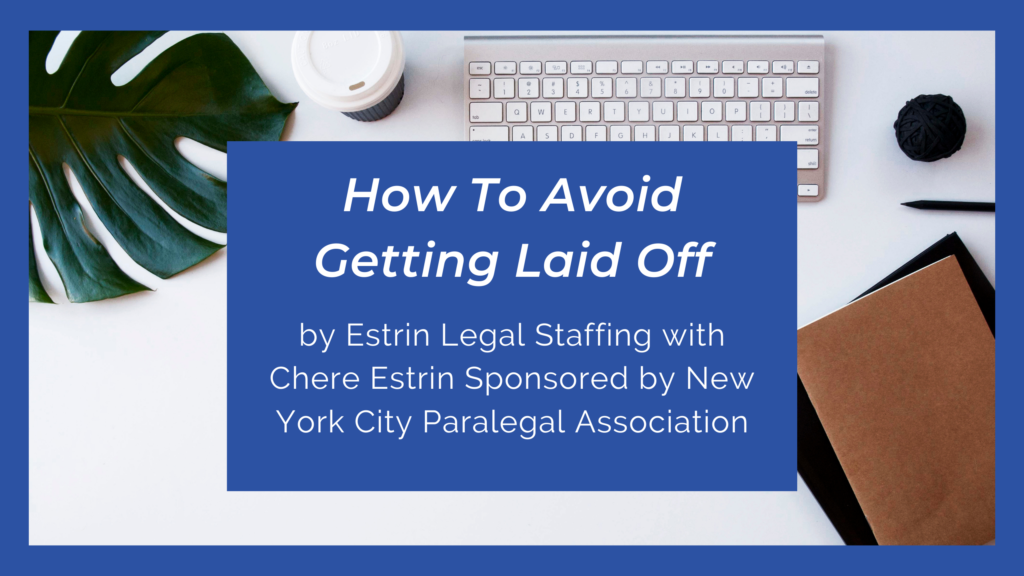 How To Avoid Getting Laid Off